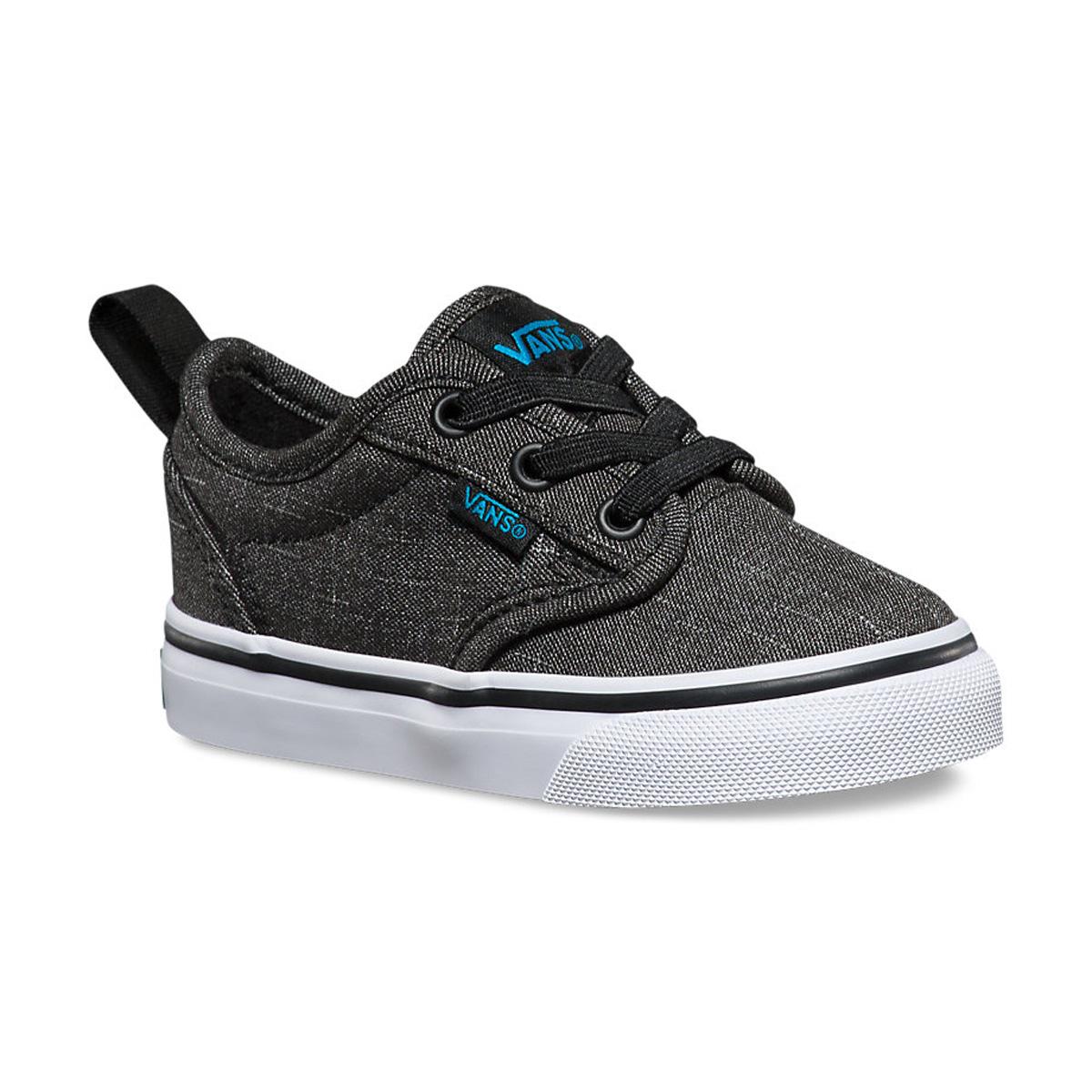 35ec1eaf707 Sentinel Vans Toddlers Shoes - Atwood Slip-on (Textile) Black Hawaiian  Ocean