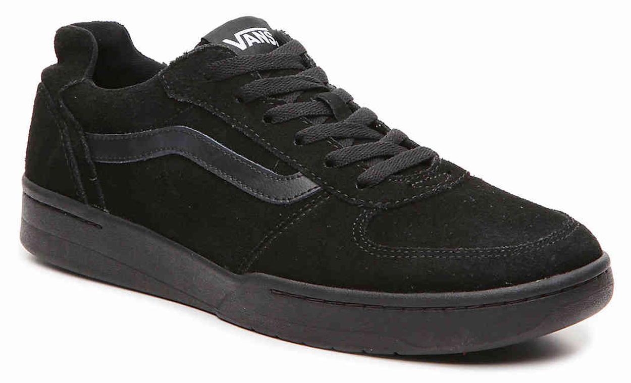 Vans Skate Shoes - Knoll - (Suede) Black, Black, Trainers, VA3DOG6D3