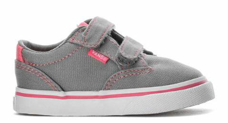 550a1d83d8 Sentinel Vans Toddlers Shoes - Winston V - (Canvas) Gray Pink