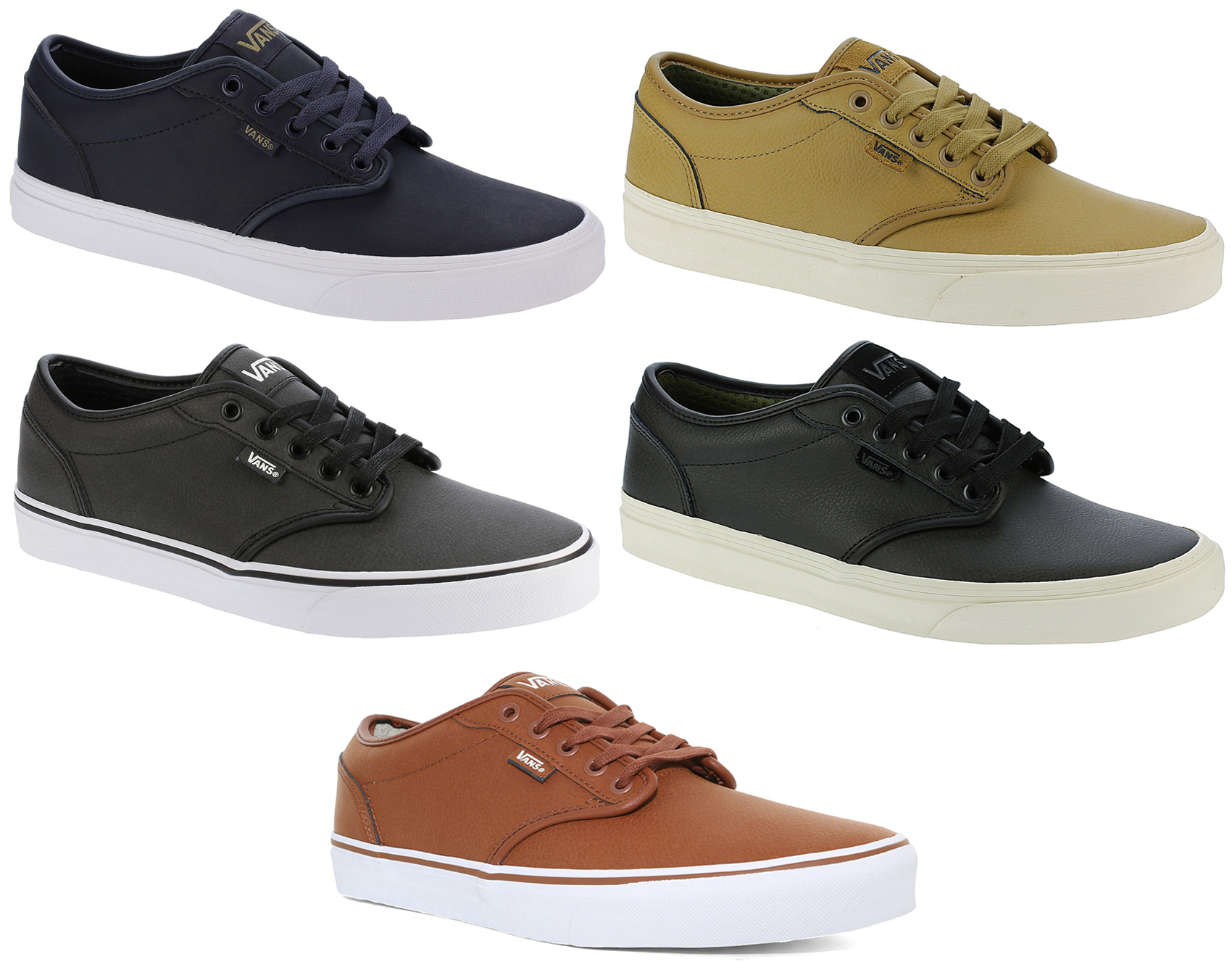 956a65956e Sentinel Vans Skate Shoes - Atwood - (Leather) Casual