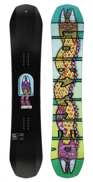 Lobster Halldor Pro A A Sea Creature Snowboard Wide 2018