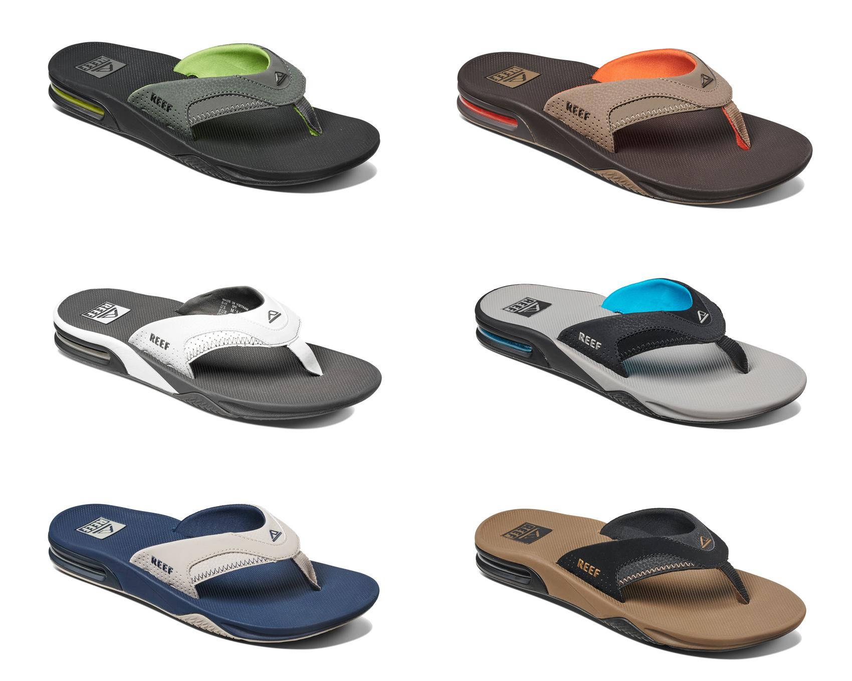 086ea4664e1 CENTINELA Ojotas de Reef - soplo - Airbag de talón de la sandalia