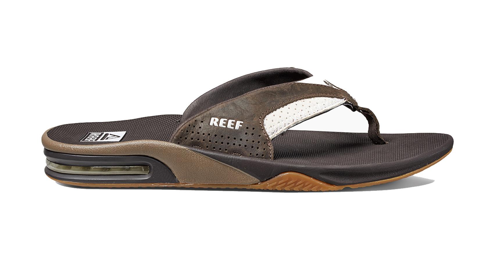 c79e91c500a Sentinel Reef Flip Flops - Leather Fanning - Sandal