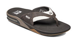 Reef Leather Fanning Flip Flop