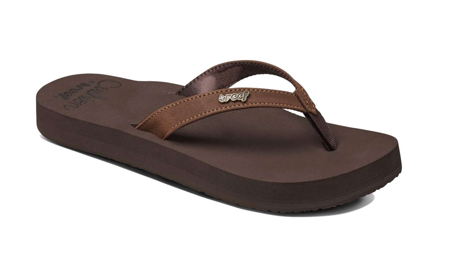 08611cb3767c8a Reef Womens Cushion Luna Flip Flop