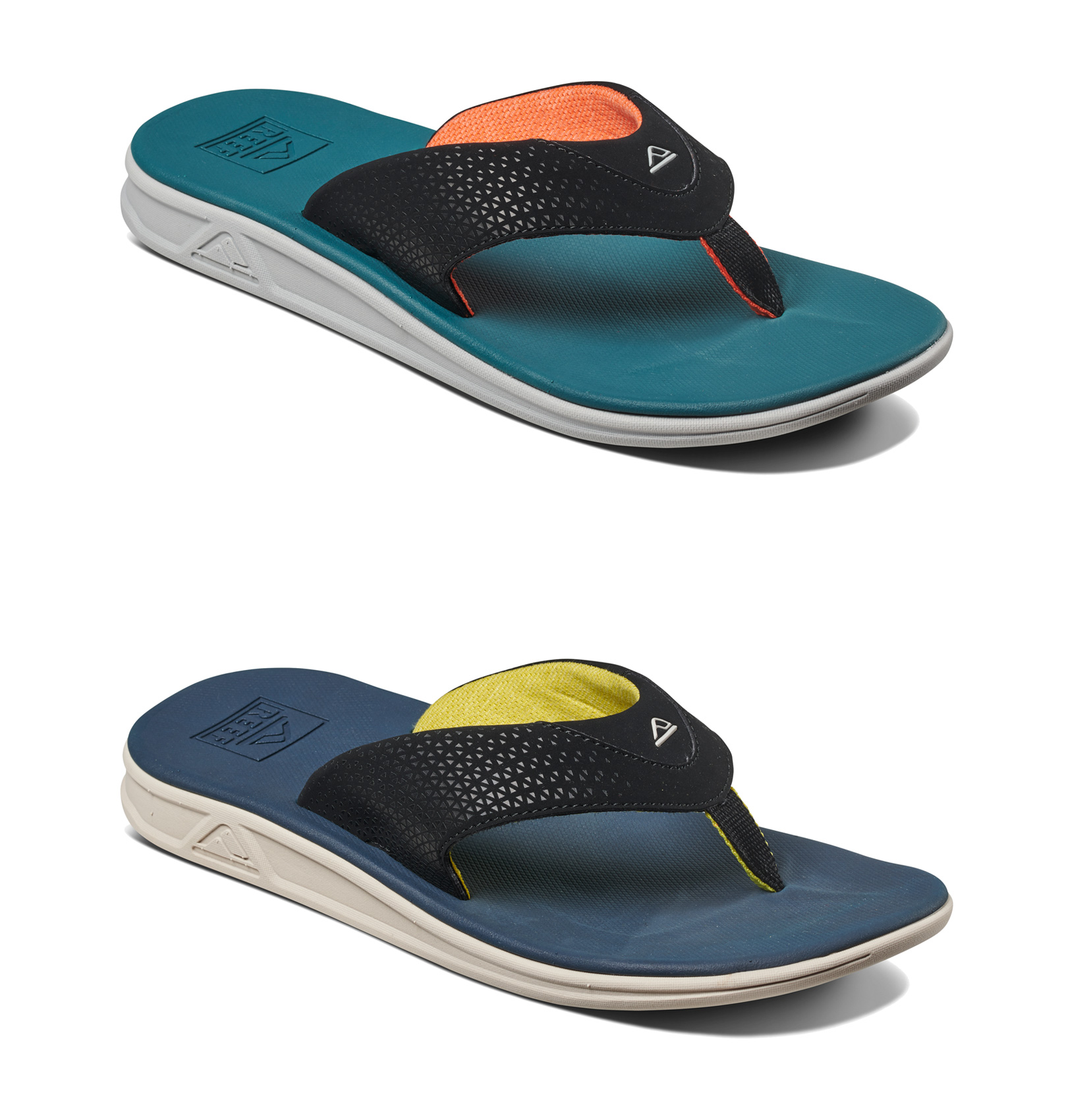 4dc6ab00cad2 Sentinel Reef Flip Flop - Rover - Navy Yellow