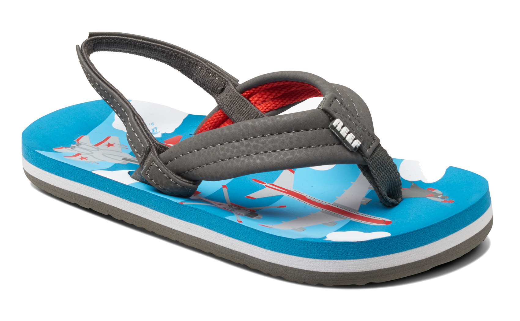 3e9476a13 Reef Toddlers Ahi Straps Flip Flop