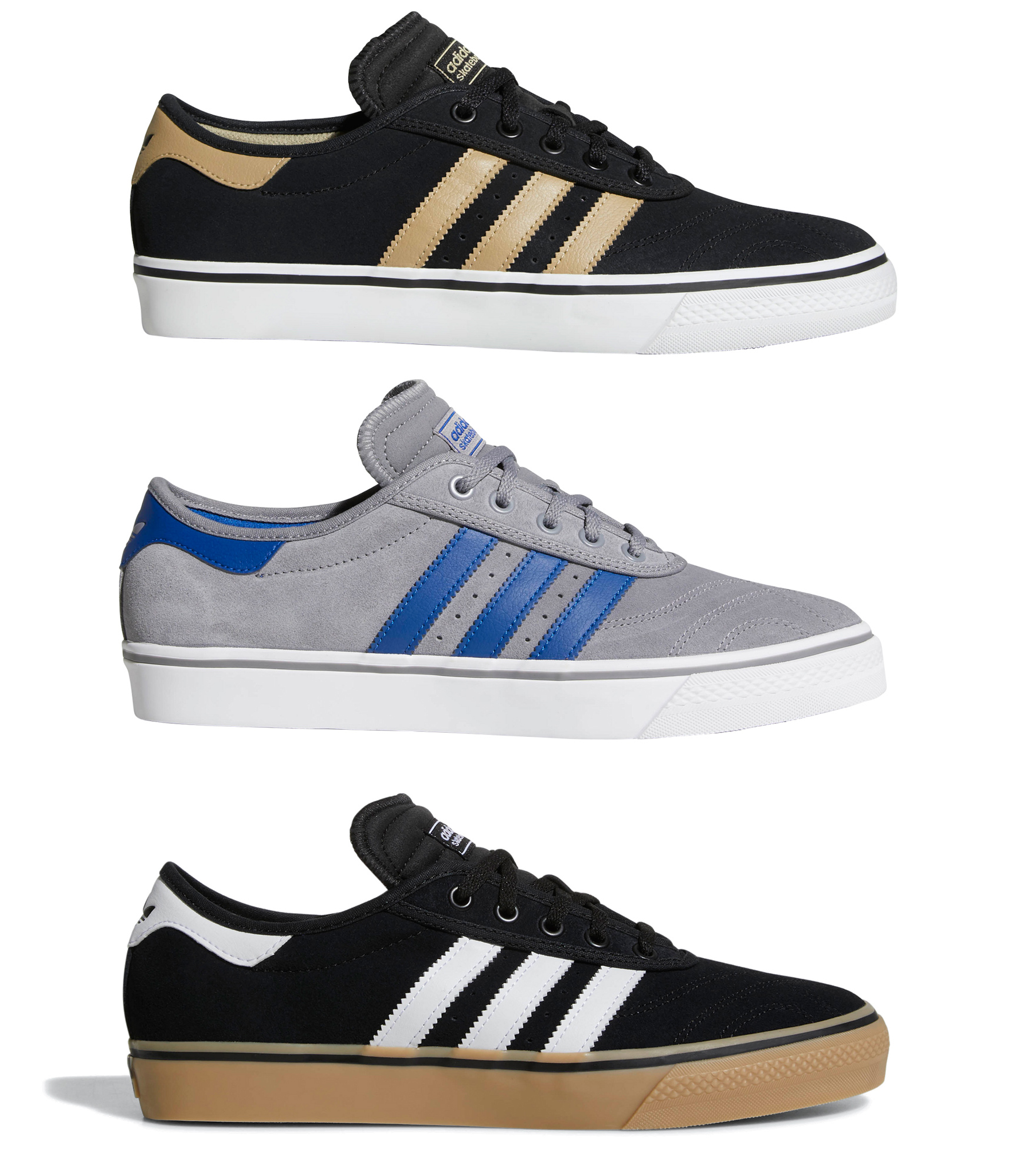 best service f565a 5ff16 Sentinel Adidas Skateboarding - Adi-Ease Premiere - Skate Shoes, Trainers,  Suede,