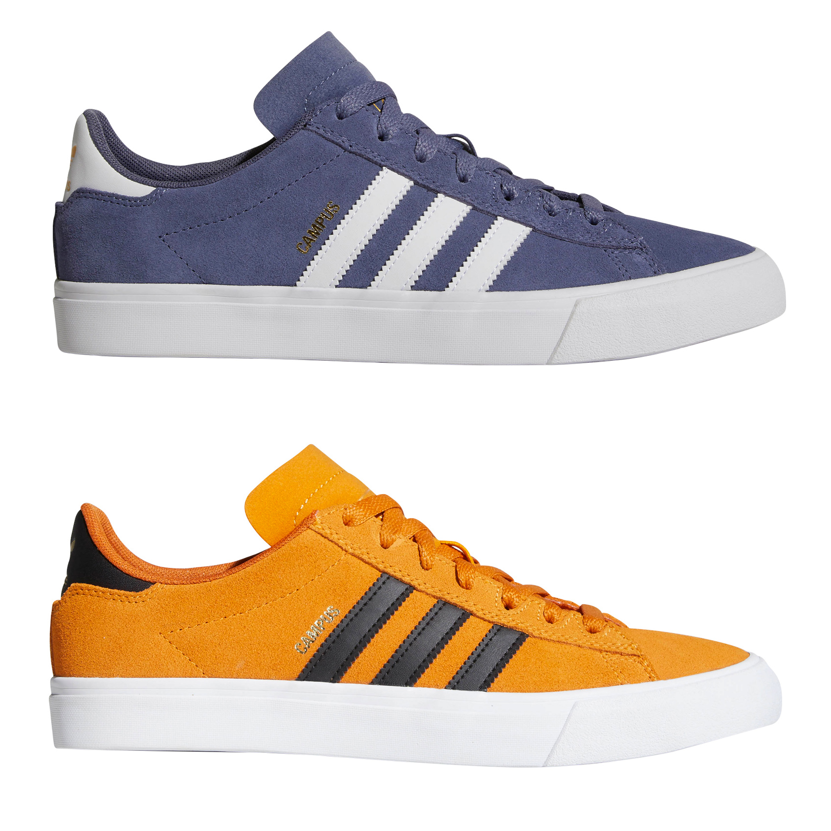 new concept 101c4 ca2e1 Sentinel Adidas Skateboarding - Campus Vulc II - Skate Shoes, Trainers,  Suede,