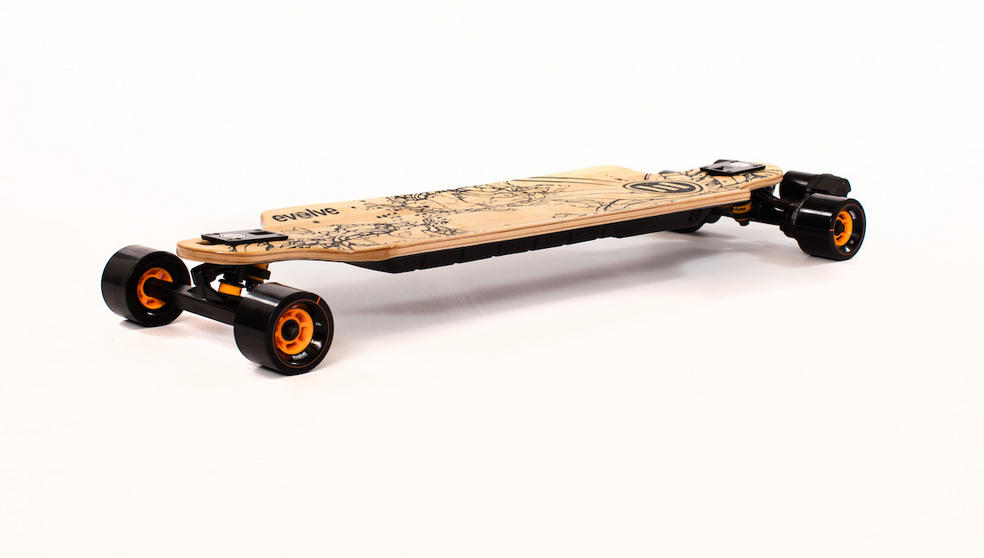 Evolve Skateboards Bamboo GT Series Electric Skateboard 83mm Wheels