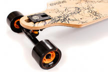Evolve Skateboards Bamboo GT Series Electric Skateboard 83mm Wheels Thumbnail 2