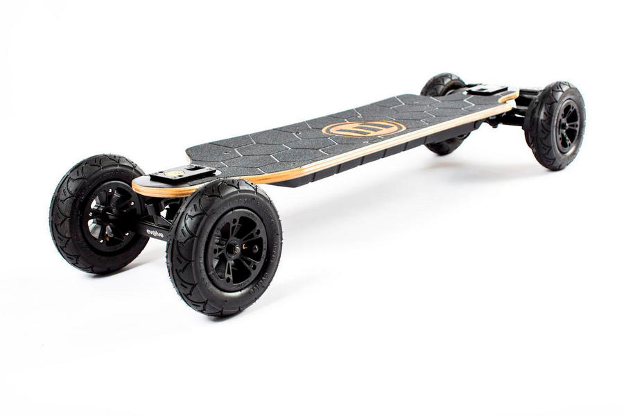 Evolve Skateboards Bamboo GTX Series All Terrain - Black Motors