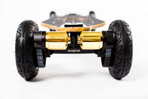 Evolve Skateboards Bamboo GTX Series All Terrain - Black Motors Thumbnail 3