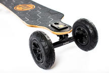 Evolve Skateboards Bamboo GTX Series All Terrain - Black Motors Thumbnail 4