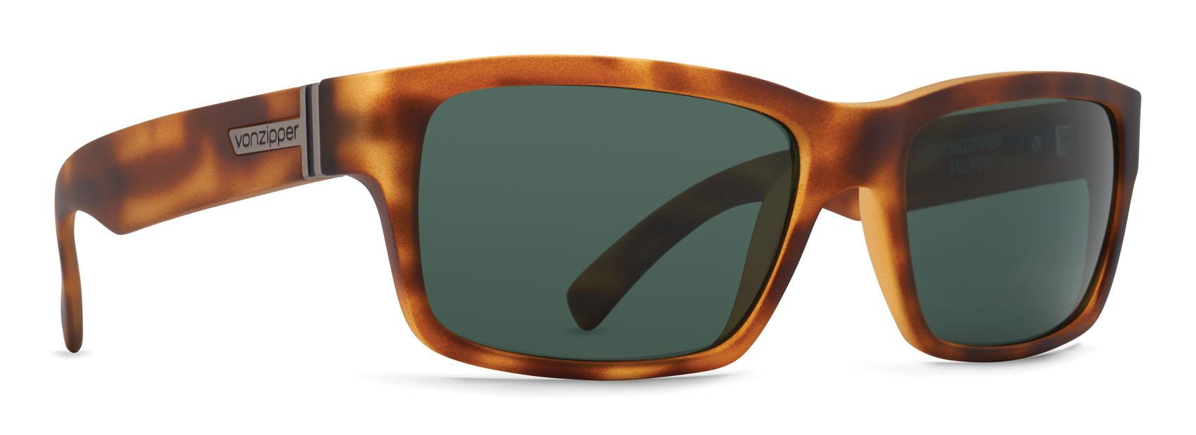 190878ff27 VonZipper Fulton Sunglasses Tortoise Satin Vintage Grey ...
