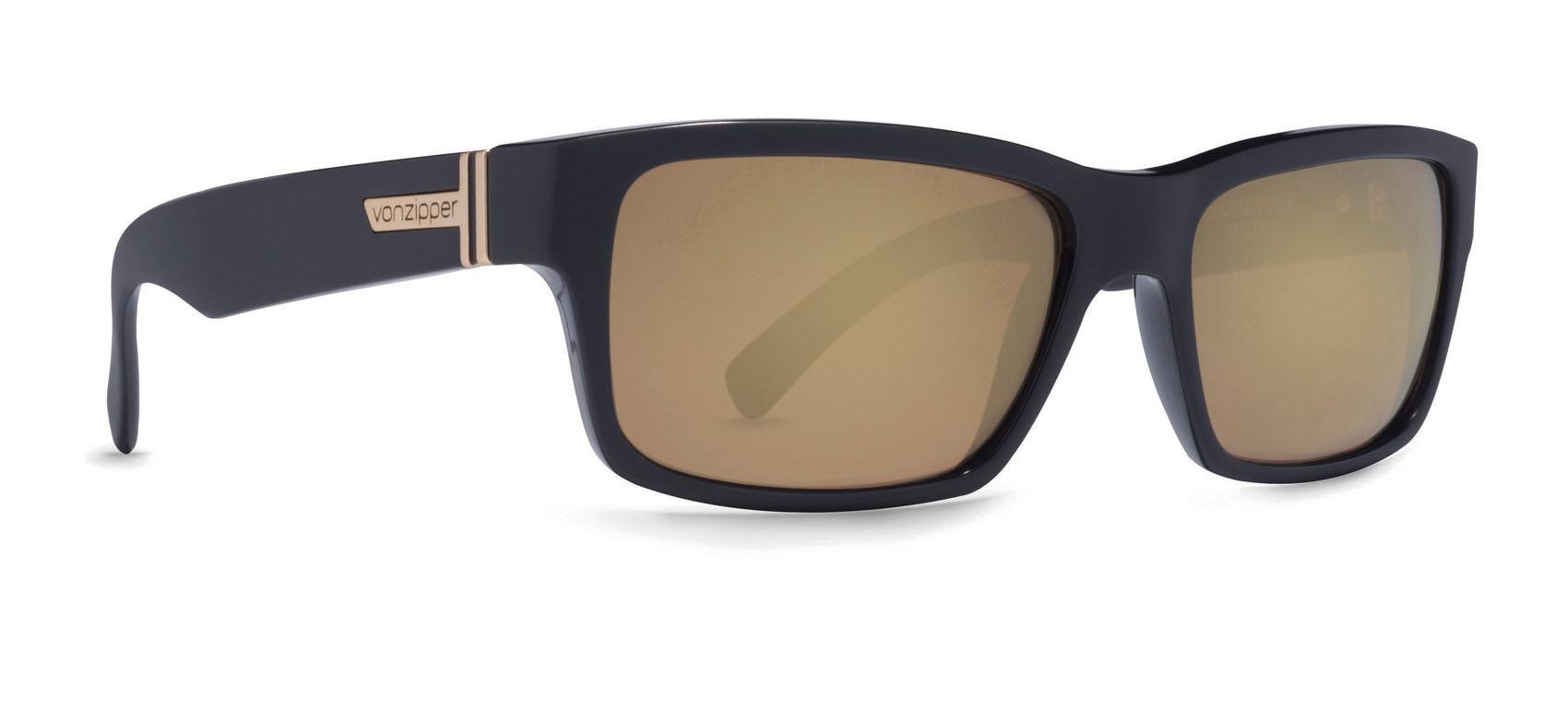 f60026b854 VonZipper Fulton Sunglasses Battlestations Black Gold Glo Chrome ...