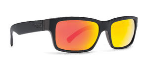 VonZipper Fulton Sunglasses Black Satin Lunar Chrome