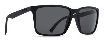 VonZipper Lesmore Sunglasses Black Satin Grey