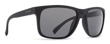 VonZipper Lomax Sunglasses Black Satin Grey