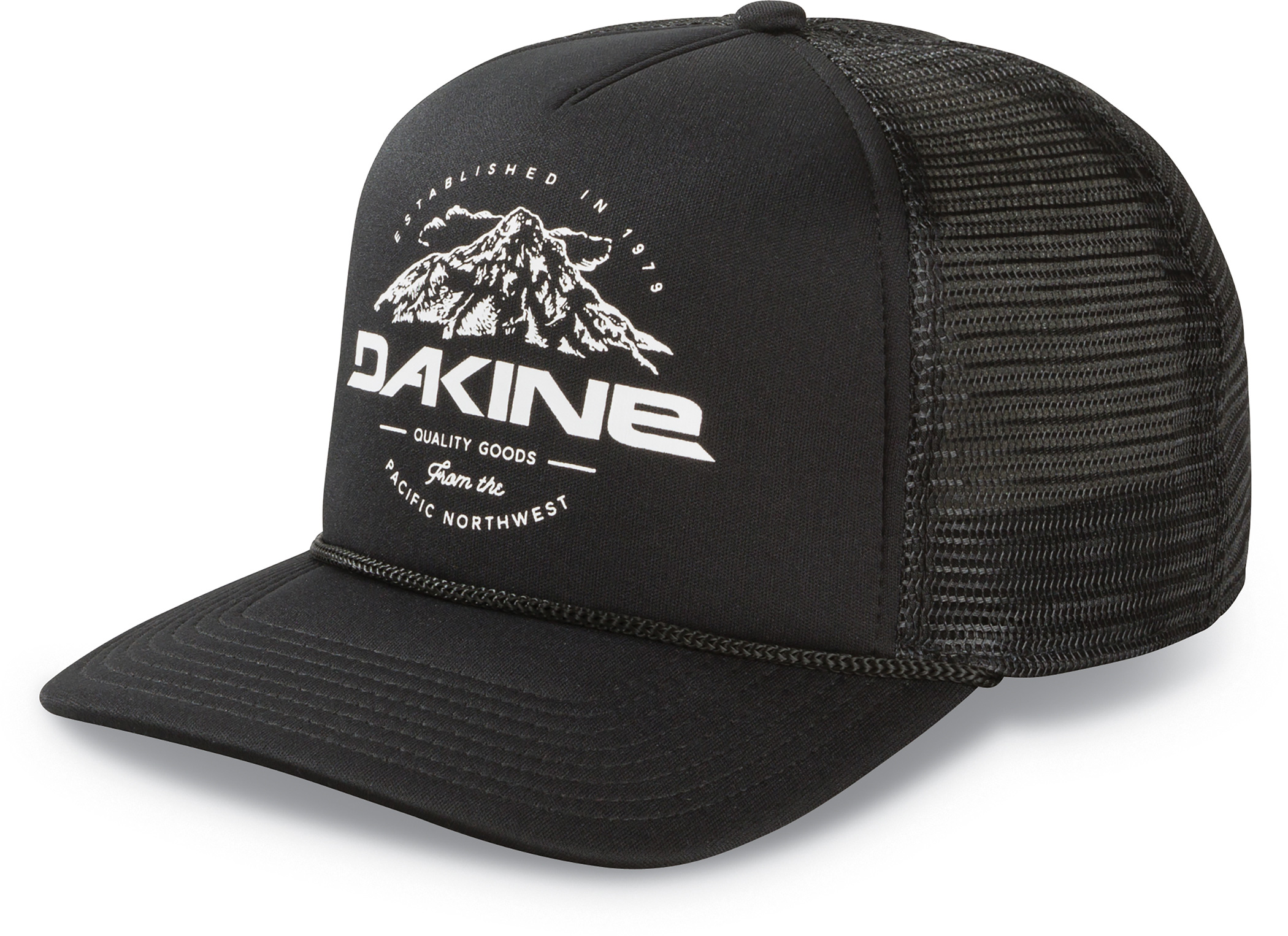 c7880c933fc Dakine Mens Mt Hood Trucker Black