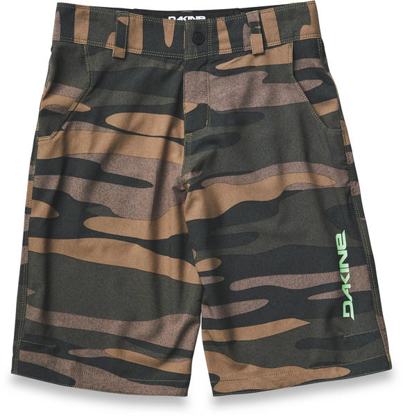 Dakine Kid's Pace Short Field Camo 8