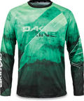 Dakine Thrillium Mens LS Cycle Jersey - Green Fir - Large