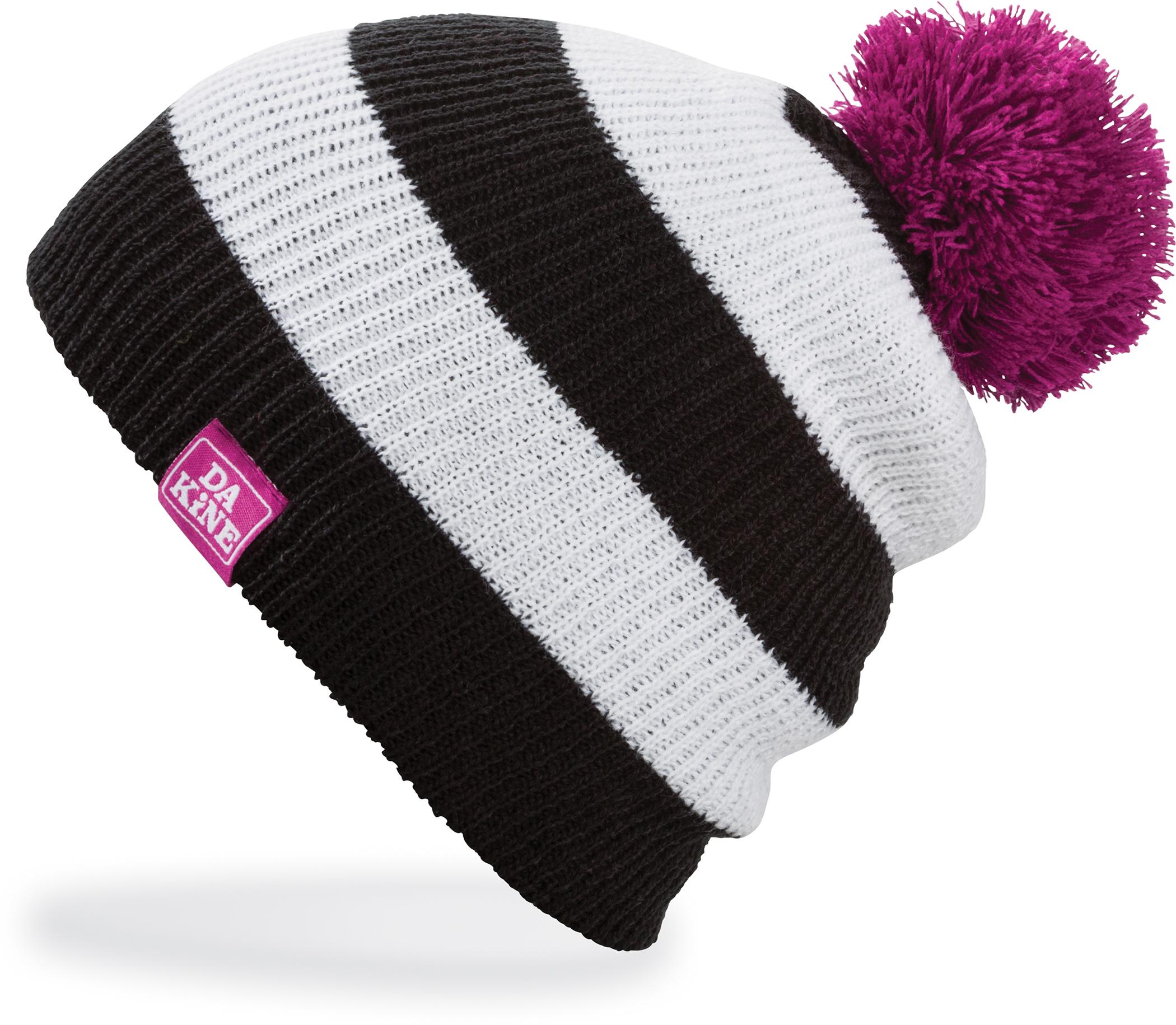 Dakine Wendy Girls Beanie Hat Black White  278f32a2d38