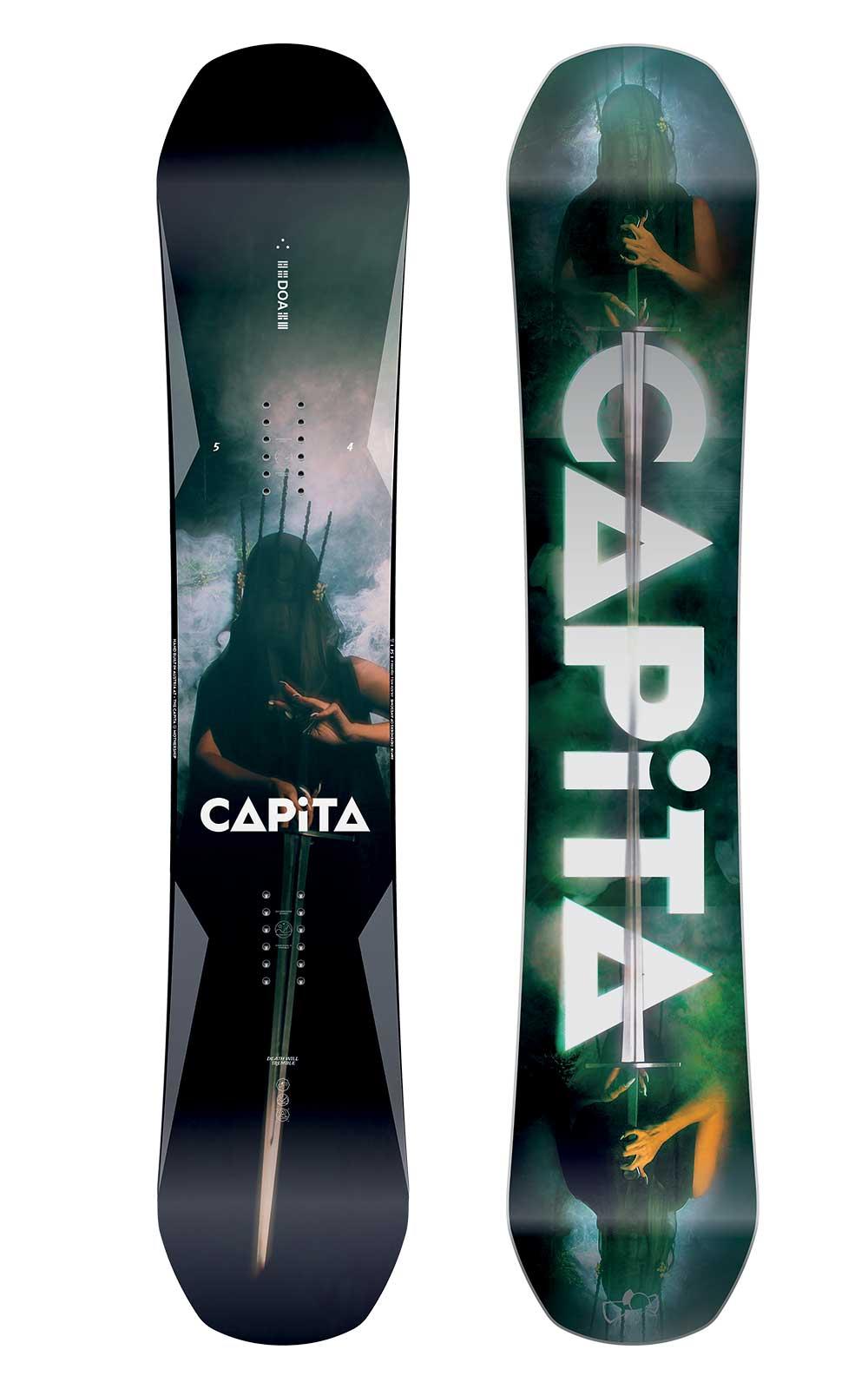 Capita Snowboard - Doa Awesome Protectores Of Awesome Doa All-Mountain Híbrido Camber-2019 83e38e