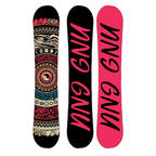 Gnu Womens Ladies Choice Asym Snowboard 2019
