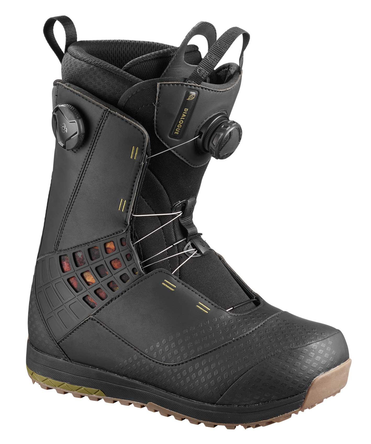 29126b4ab9ee Salomon Dialogue Focus BOA Snowboard Boots 2019