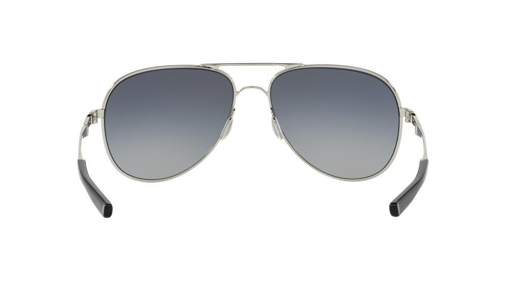 e701ac61d6a Oakley Elmont L Sunglasses Chrome Grey Gradient Polarized Thumbnail 3