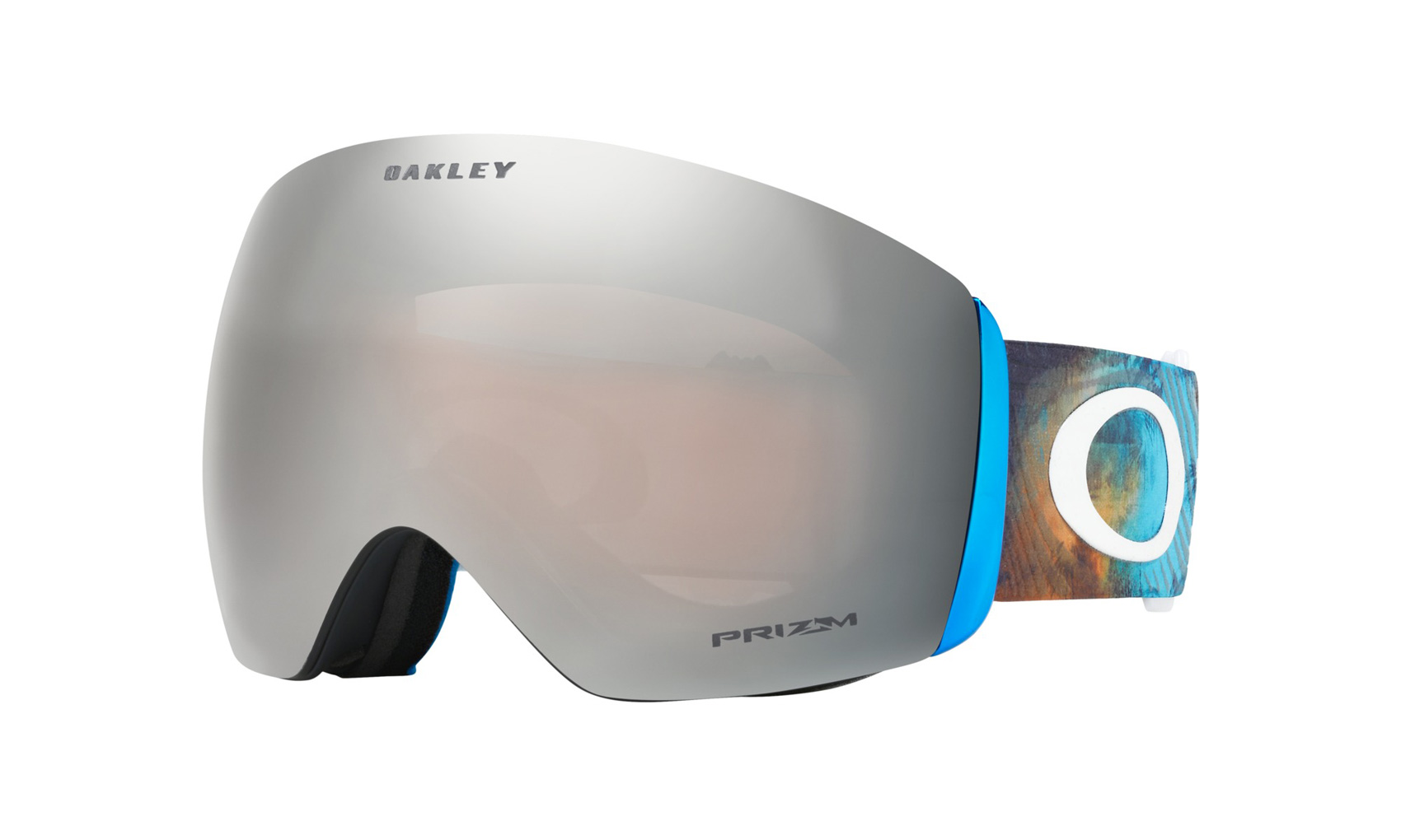 140581fb2a Oakley Flight Deck Goggle 2018 Corduroy Dreams Blue Orange Prizm Black  Iridium