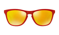 Oakley Frogskins Sunglasses Heritage Red Fire Iridium Thumbnail 2