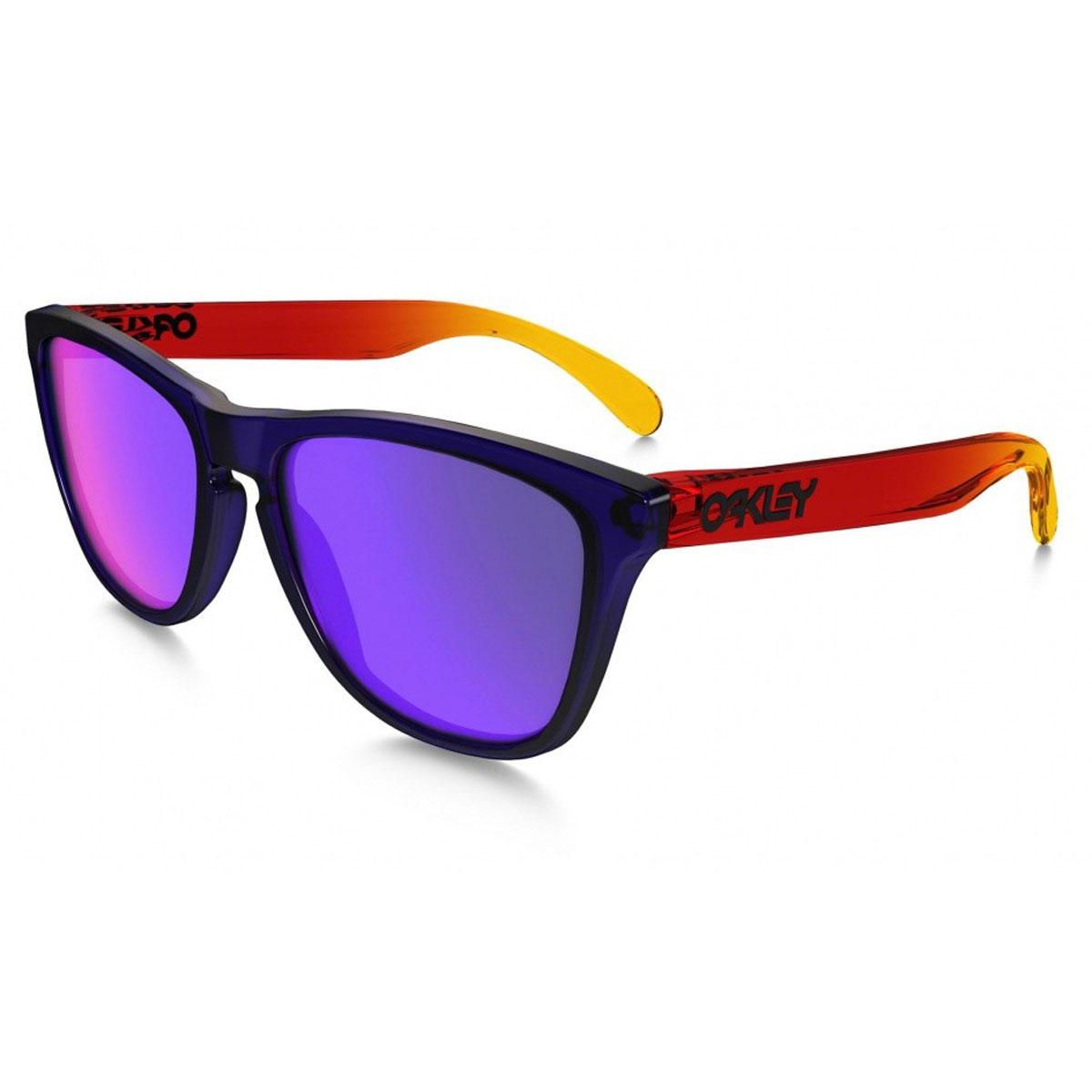 5cecb37ffe Sentinel Oakley Sunglasses - Frogskins - Surf Purple