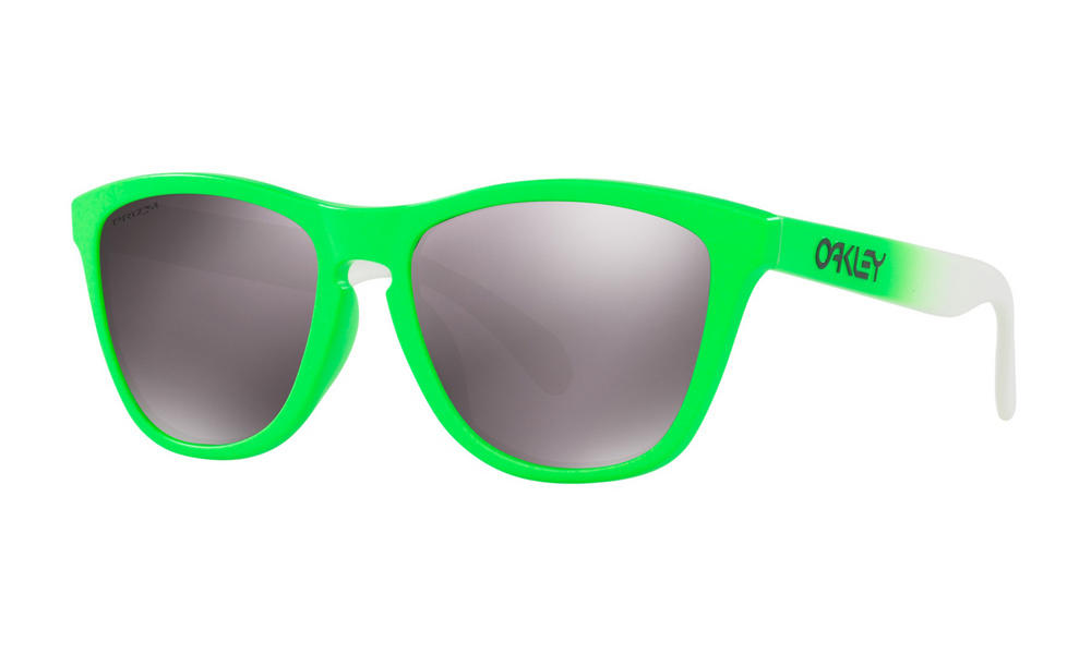 Oakley Frogskins Sunglasses Green Fade Prizm Daily Polarized