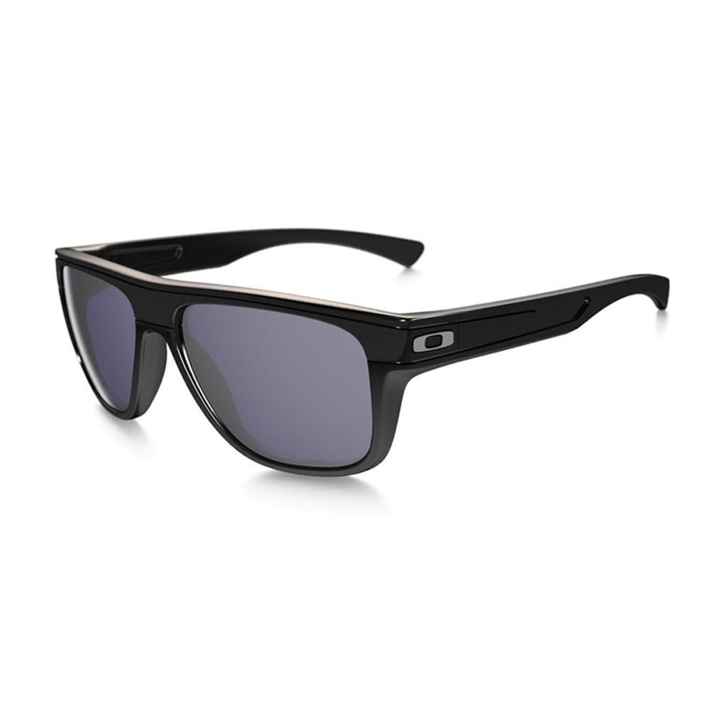 4cb96f7dc0 Oakley Breadbox Sunglasses Polsihed Black Black Iridium Polarized ...