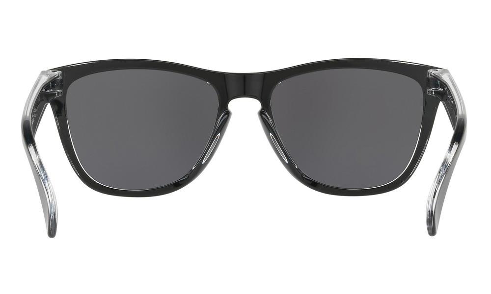 c3453f93f04 Oakley Frogskins Sunglasses Eclipse Clear Black Iridium Thumbnail 3
