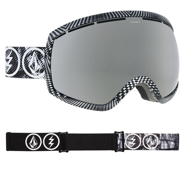 93fe2ebd494 Electric EG2 Goggles 2019 Volcom Co-Lab with Brose Silver Chrome + Freedom  of Choice
