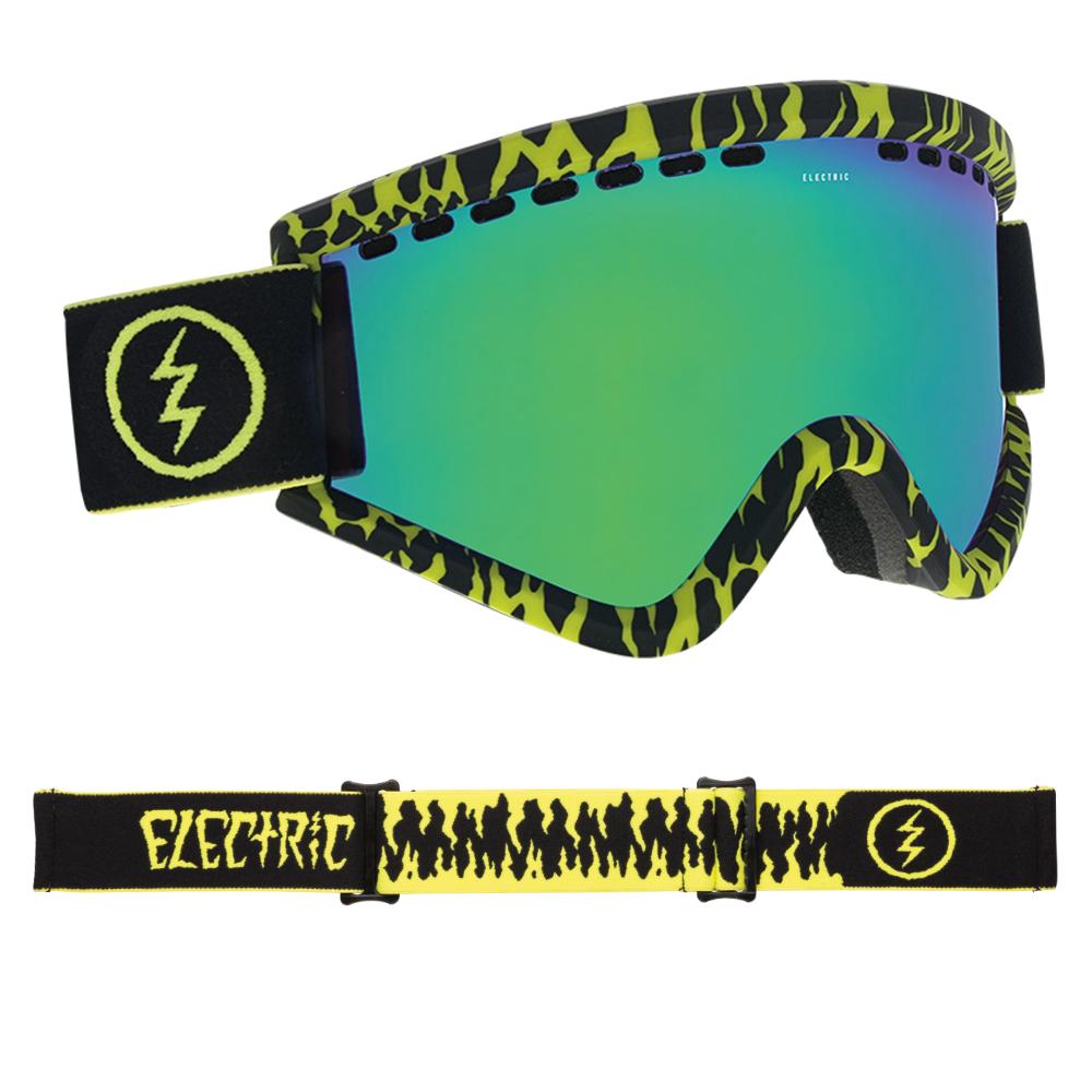 ce9da454045 Sentinel Electric Snowboard Goggles - EGV Sketch with Brose Green Chrome  Lens - 2019