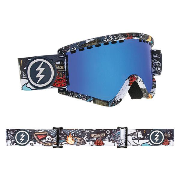 0d4f623a57e Electric EGV.K Goggles 2019 Curl with Brose Blue Chrome + Freedom of Choice  Lens