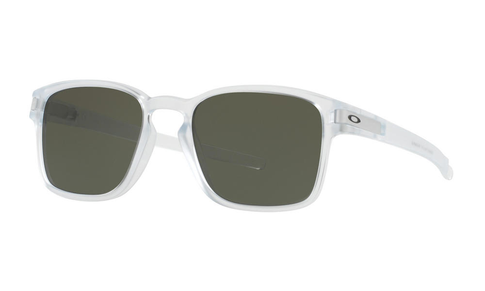 Oakley Latch SQ Sunglasses Matte Clear Dark Grey