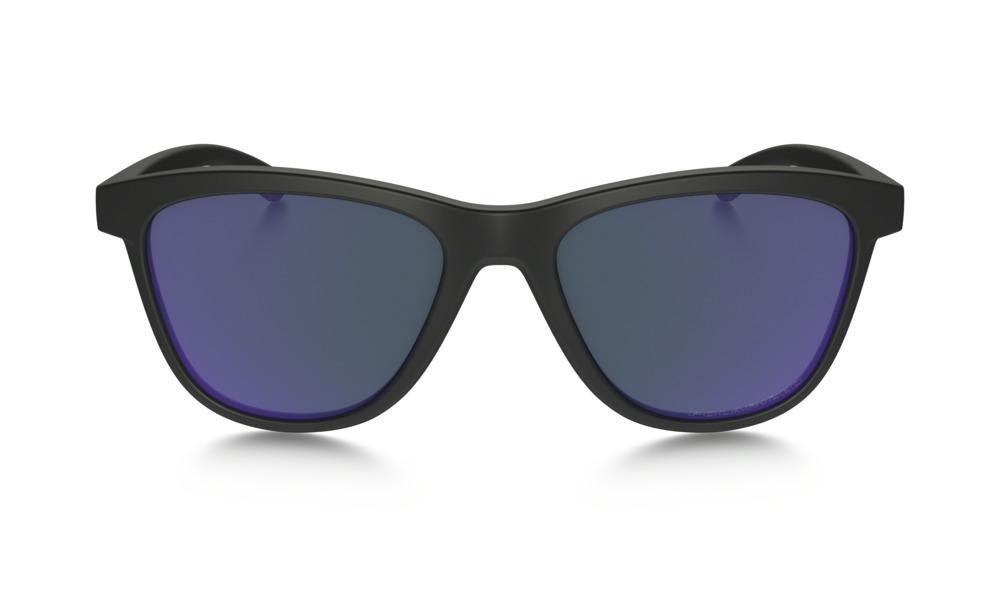 bbef94dc6b Oakley Moonlighter Sunglasses Matte Black Violet Iridium Polarized Thumbnail  2
