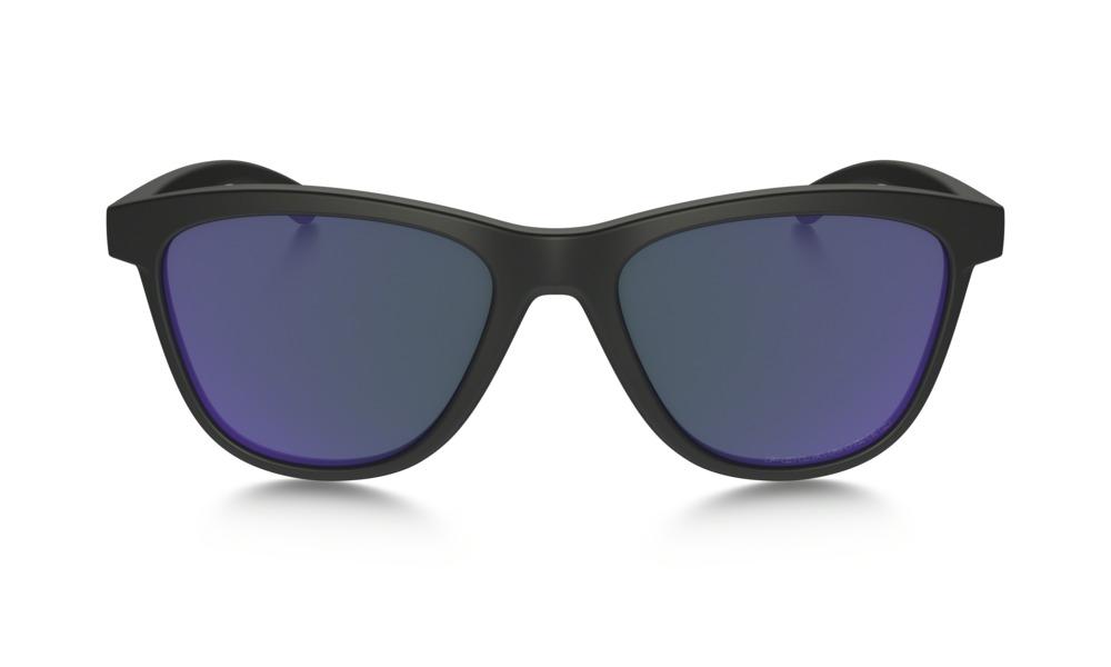 b7e11206bcb17 CENTINELA Oakley para mujer gafas de sol - Moonlighter - mate negro violeta  Iridium polarizada