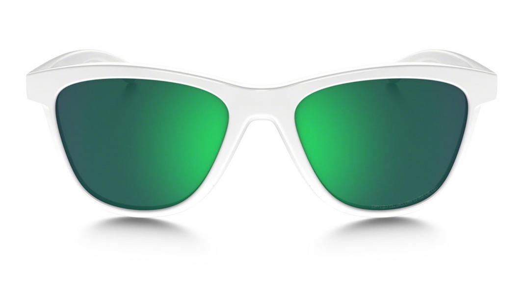 f37e8356aa9 Oakley Moonlighter Sunglasses Polished White Jade Iridium Polarized  Thumbnail 2