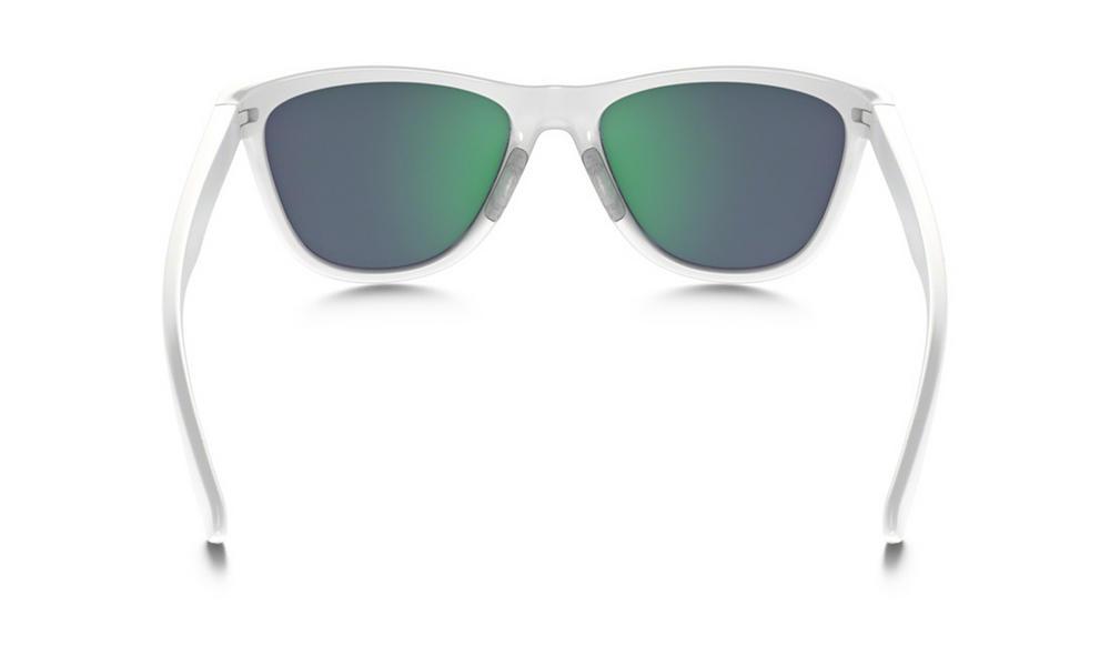 a06621cfbcc Oakley Moonlighter Sunglasses Polished White Jade Iridium Polarized  Thumbnail 3
