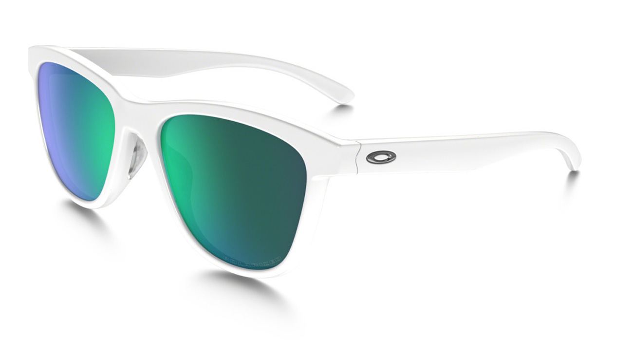 c1c9e4ff15 Oakley Moonlighter Sunglasses Polished White Jade Iridium Polarized ...