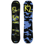 K2 Mini Turbo Kids Snowboard , All Mountain , 110cm , 2018