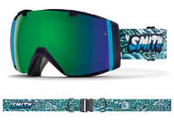 Smith I/O Goggles 2019 Tall Boy ChromaPop Sun Green Mirror ChromaPop + Bonus Lens