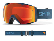 Smith I/O Goggles 2019 High Fives ChromaPop Everyday Red Mirror + Bonus Lens