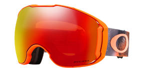 Oakley Airbrake XL Goggle 2019 Mystic Flow Neon Orange Prizm Torch Prizm Black
